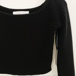 Lovers + Friends Sweaters - NWT Lovers + Friends Bells Crop Sweater